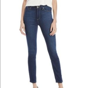 Paige Hoxton High Rise Ankle Skinny Jeans size 25